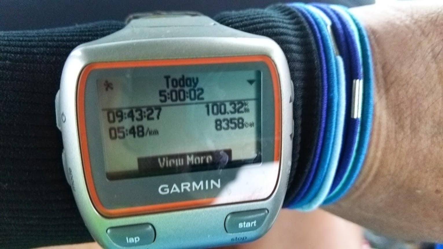 (遅報)某ウルトラマラソン100km出場結果