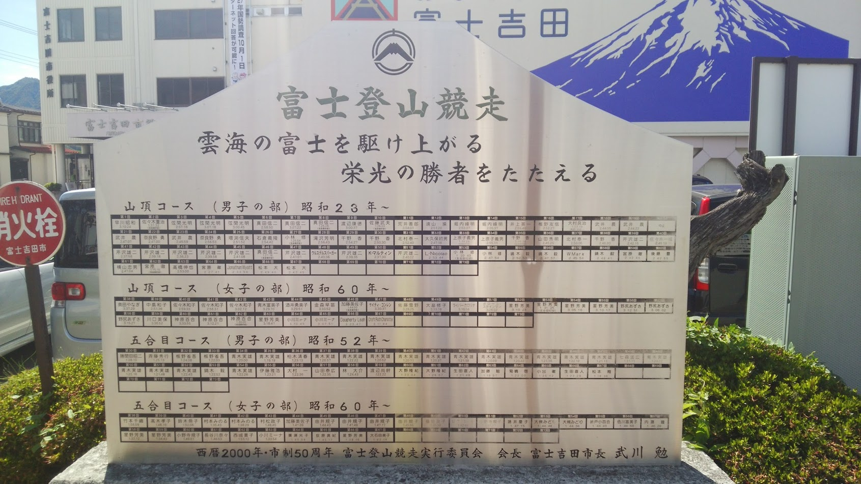 富士山のご利用は計画的に!!